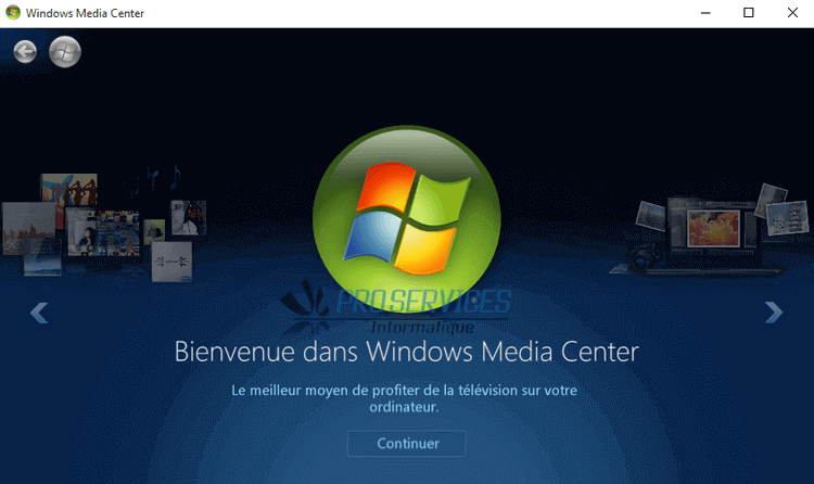 Windows Media Center Windows 10