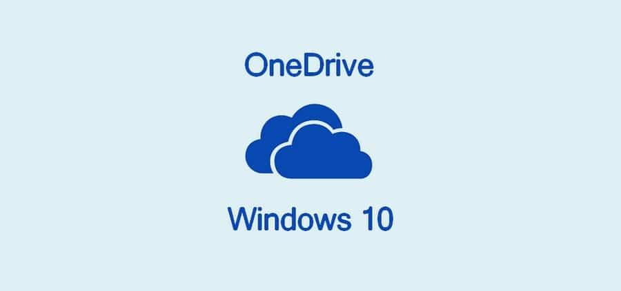 Désactiver ou désinstaller OneDrive sur Windows 10