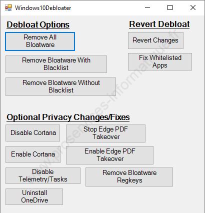 Supprimer les bloatwares avec un script PowerShell