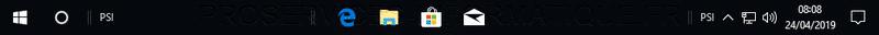 Centrer les icônes dans la barre des tâches de Windows 10 sans logiciel
