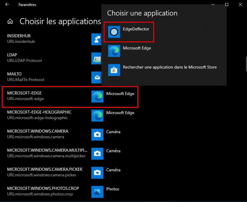 Changer le moteur de recherche de Cortana avec EdgeDeflector