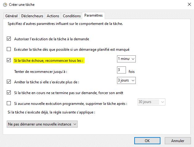 Programmer arrêt ordinateur automatiquement