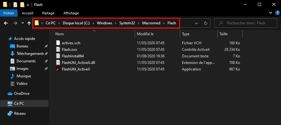 Supprimer les fichiers obsolètes