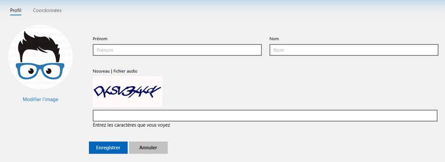 Changer le nom et le prénom d'un compte Microsoft