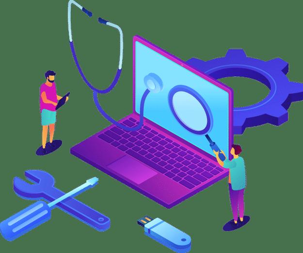 Dépannage informatique réparation ordinateur