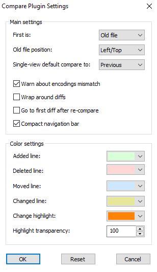 Changer les couleurs des différences pour une comparaison de fichiers avec Notepad++