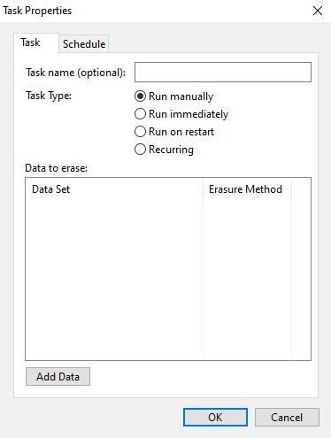 Supprimer définitivement les données du disque dur avec Eraser